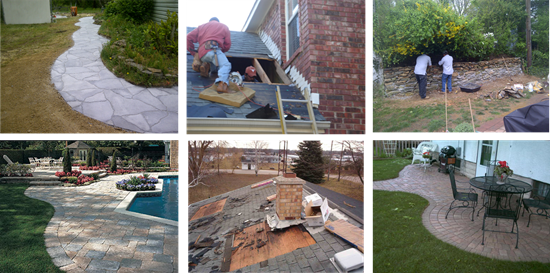Photos of Pavers & Roofing